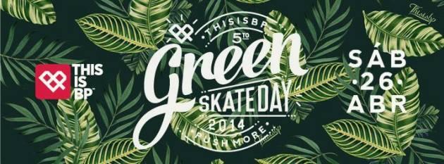 Green Skate DAY bANNER