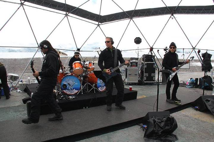 Metallica Antartida Prueba Sonido
