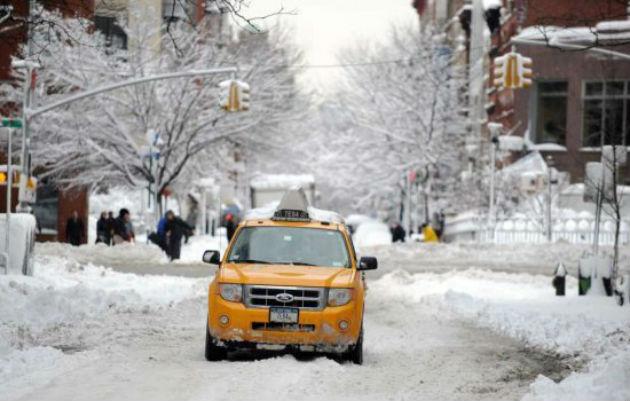 New-York-Taxi-Snow