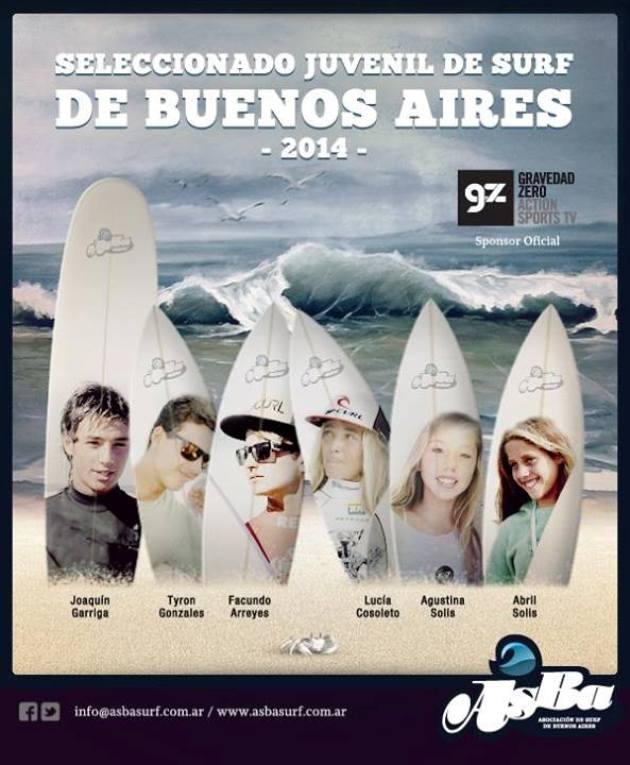 Selecc Juv Surf