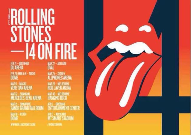 Stones 14 On FIRE